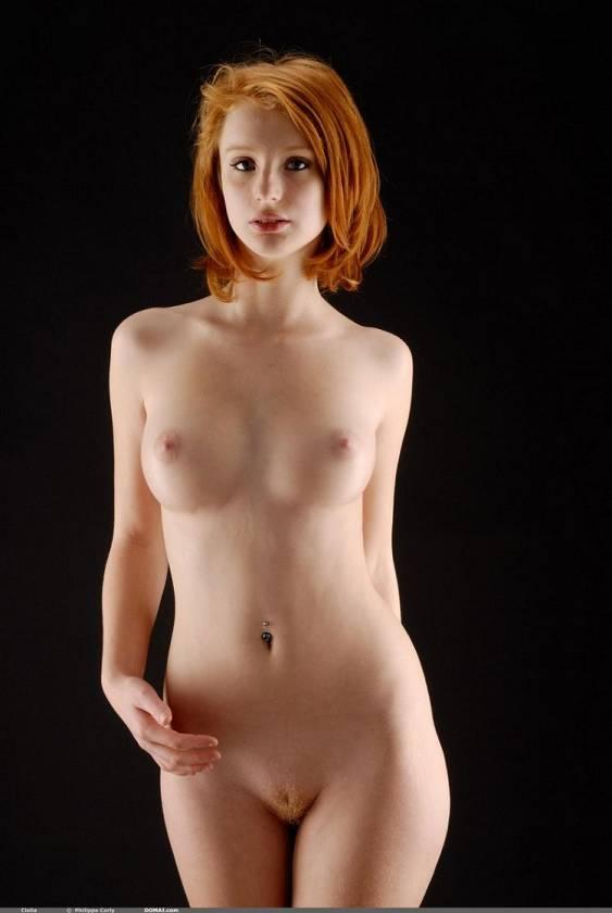 рыжая фото голая